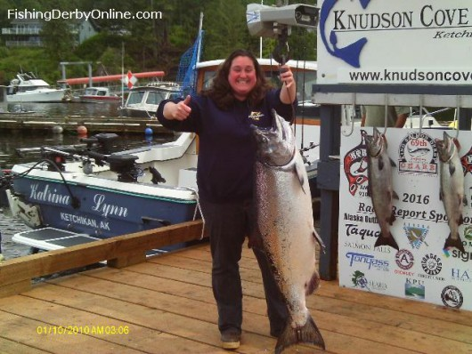 New top derby fish nearly 50 pounds