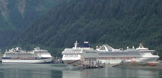 Cruise industry grows, global share shrinks