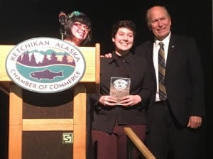 Bella Posey was named this year's Outstanding Youth Leader. (Photo by Leila Kheiry)