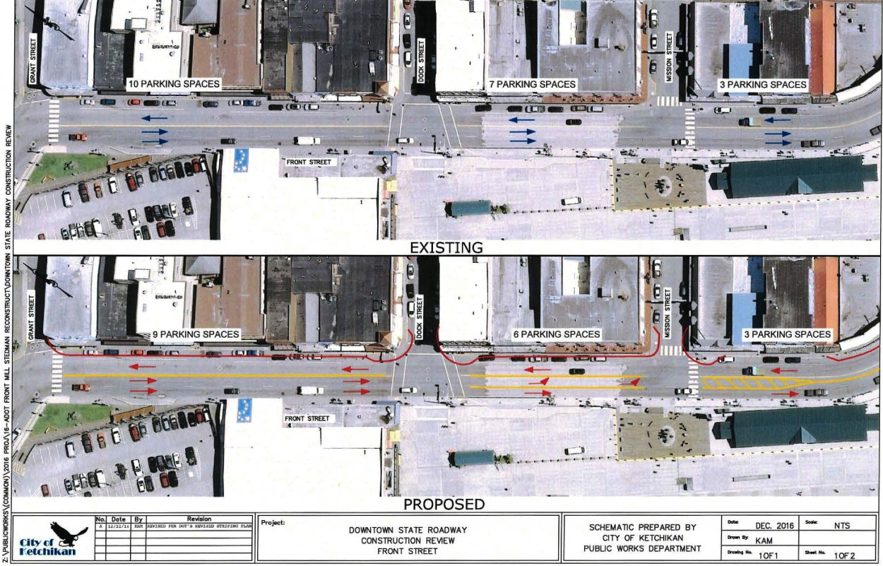 Council hears DOT plan for downtown streets