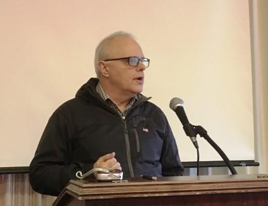Mayor talks about port plans, DOT street work