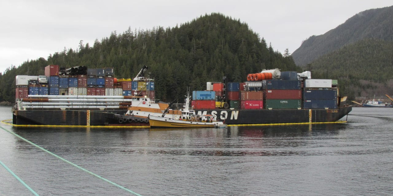 Tug grounds on Rosa Reef, refloated