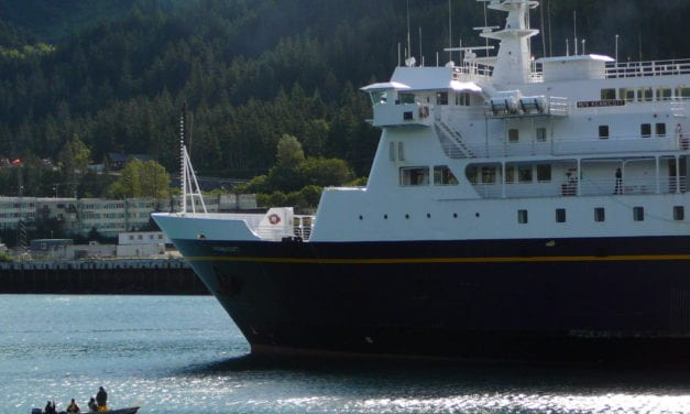 Ferry Kennicott's late return cuts port calls