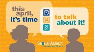 April is Sexual Assault and Child Abuse Awareness Month