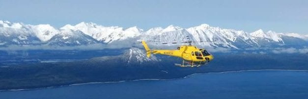 NTSB investigating helicopter crash on Herbert Glacier