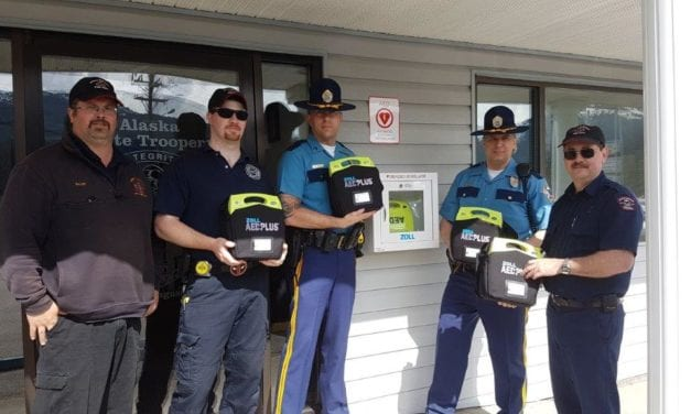 AEDs installed in the North Tongass Service Area