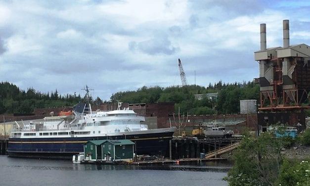 No bids for retired ferry Taku, again