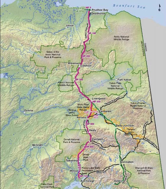 Feds seek comments on Alaska's in-state natural gas pipeline