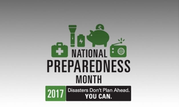 National Preparedness Month just around the corner