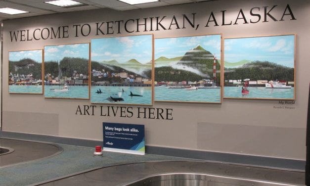 New public art piece dedicated at Ketchikan's airport
