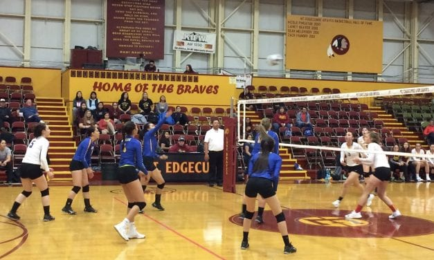 AK: $15,000 and 2,000 miles later, Kotzebue High volleyball players show Sitka their skills