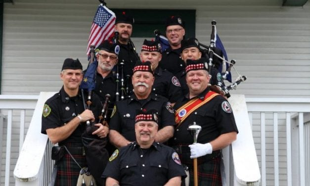 Sitka's Alaska Day soundtrack includes pipes and drums
