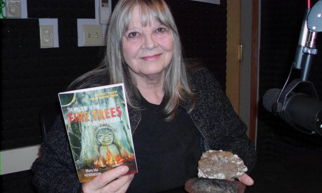 Henrikson explores the mystery of fire trees in new book
