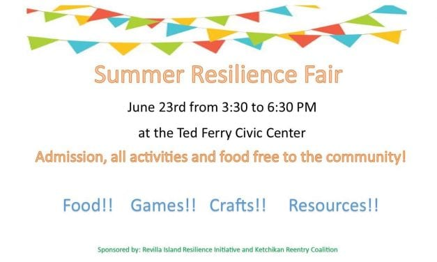 Resilience Fair this upcoming Saturday