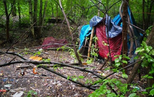 Anchorage struggles to balance homeless camping problems