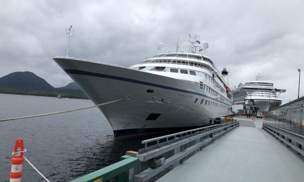Luxury cruise line returns to Alaska, bringing opportunity