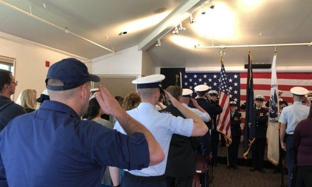 Coast Guard cutter gets new commander