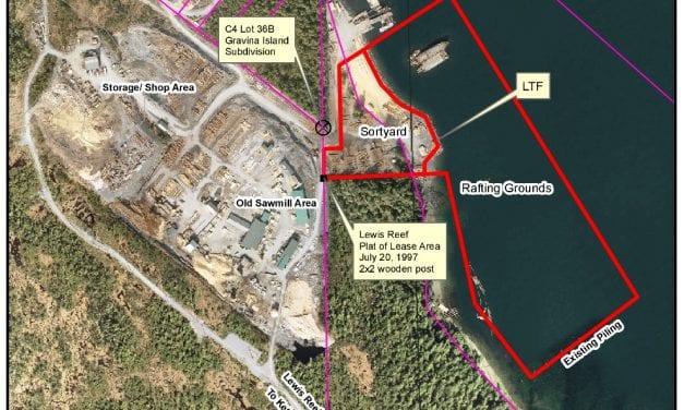 Log-transfer facility proposed for Gravina Island