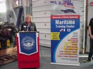 Unveiling celebrates UAS Ketchikan's Maritime Training