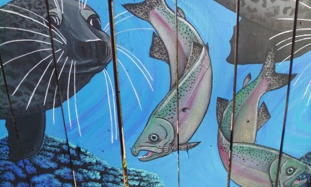 Mural celebrates Southeast Alaska ocean life