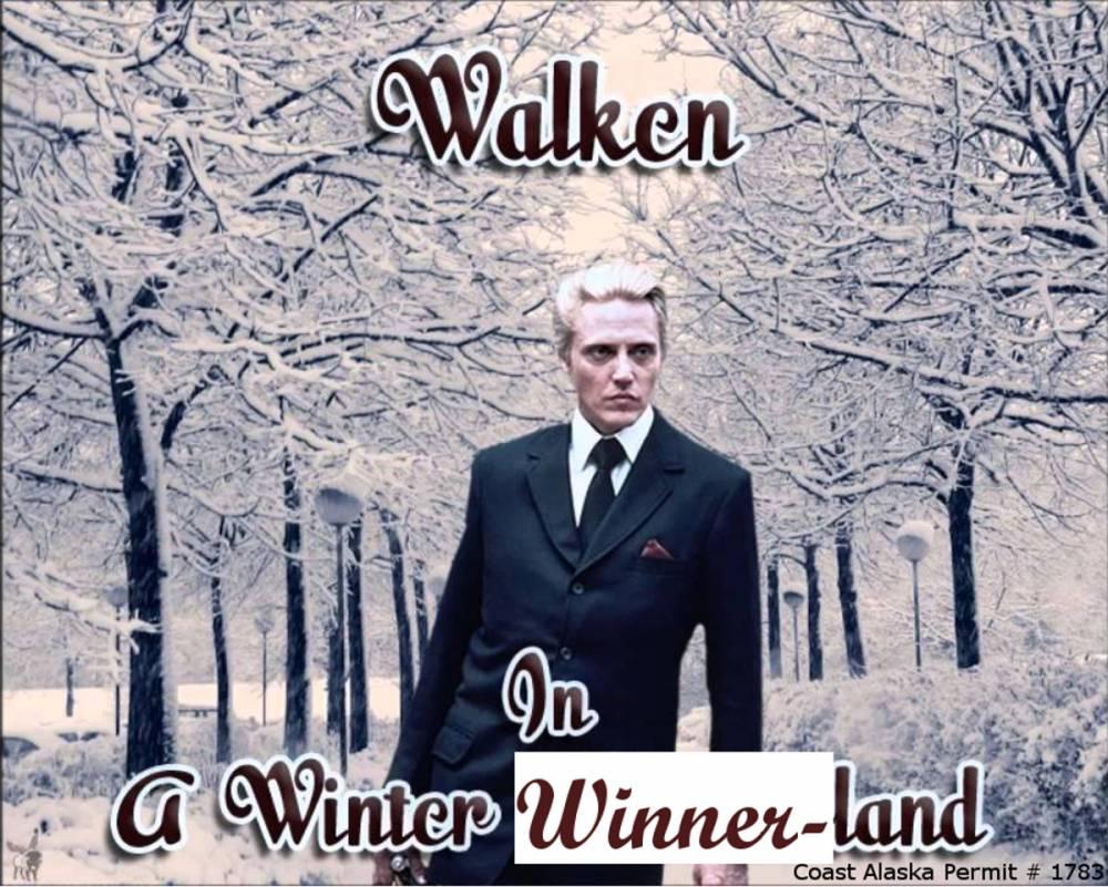 Walken In A Winter Winner Land