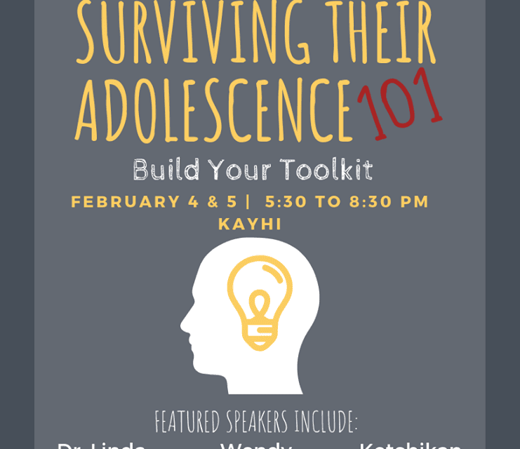 """Surviving Their Adolescence"" workshop coming to Ketchikan"