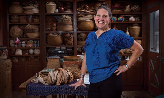 Ketchikan fabric artist, basket weaver gives talk, workshop at Petersburg library