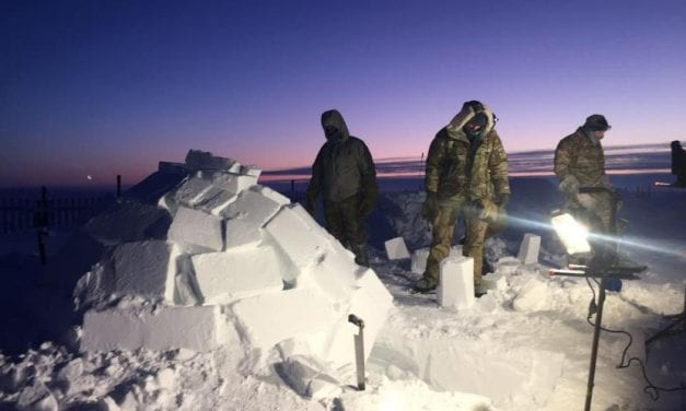 U.S. Air Force 'barren lands' survival course teaches how to stay alive in Arctic wilderness