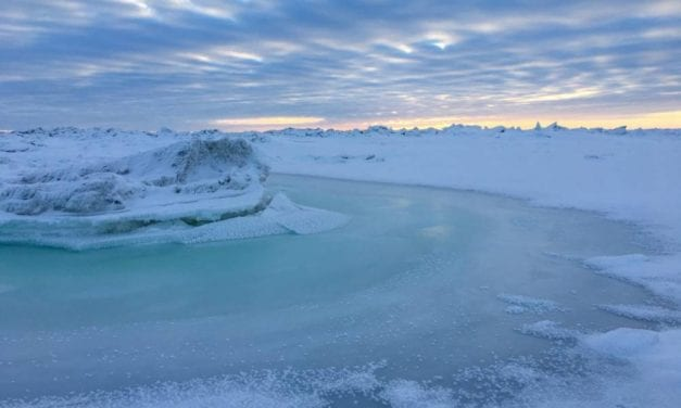 Storms erode Bering Sea ice pack; caution is urged