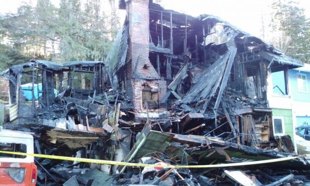 Home destroyed in early morning fire