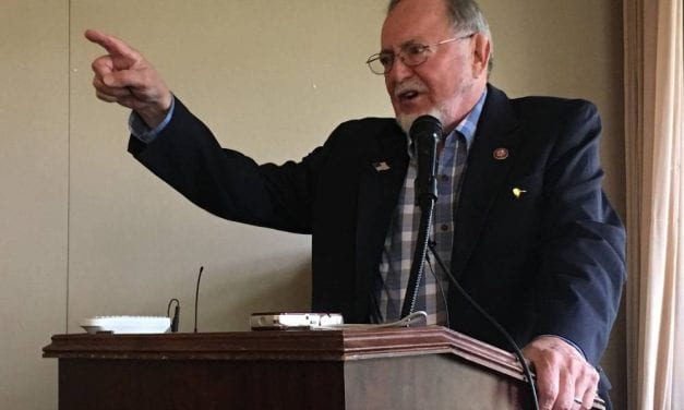 Rep. Young speaks to Ketchikan Chamber