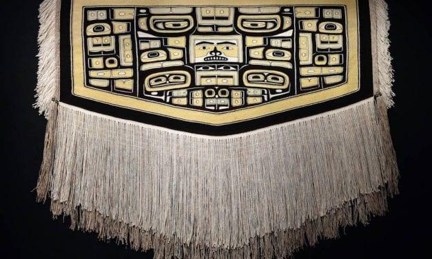 City museum buys Chilkat robe by Dorica Jackson