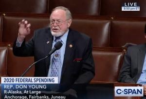 US House approves anti-Pebble amendment; Young votes no, defending permit process