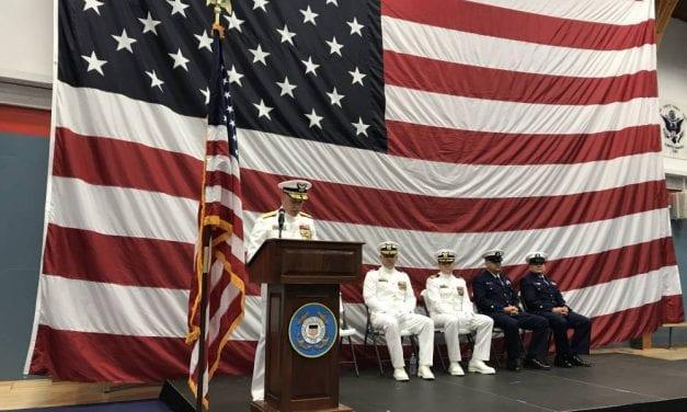 Ketchikan Coast Guard Commanding Officer retires
