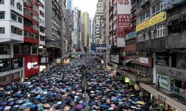 Protests In Hong Kong Continue, Remain Peaceful Throughout The Weekend