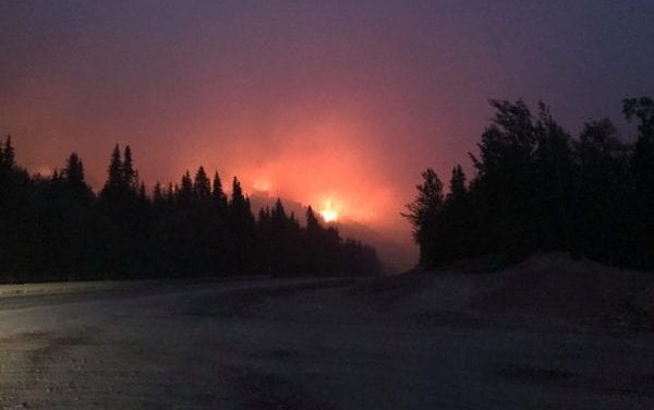 Fires north and south of Anchorage close highways, trigger evacuations