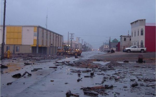 Heavy, expensive wind storms projected to hit Northwest Alaska harder in coming decades, study finds